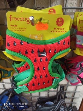 Peitoral para cão melancia