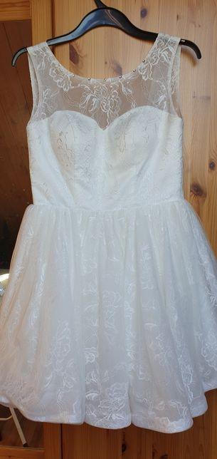 Śliczna sukienka.
