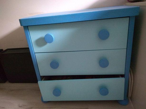 Komoda Ikea mamut niebieska