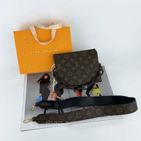 Женская сумка клатч Louis Vuitton Луи Виттон LV жіноча сумочка