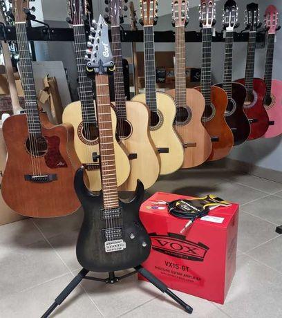 Nowa gitara elektryczna + wzmacniacz Vox zestaw gitarowy Pszczyna