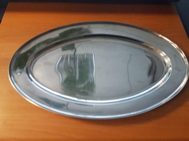 Taca owalna stalowa do cateringu 51x32 cm
