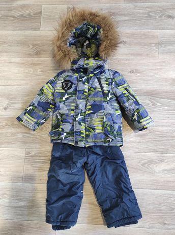 Комбинезон, Курточка зимняя , костюм, комплект
