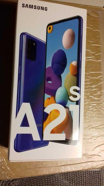 Samsung A21s niebieski (blue) nowy