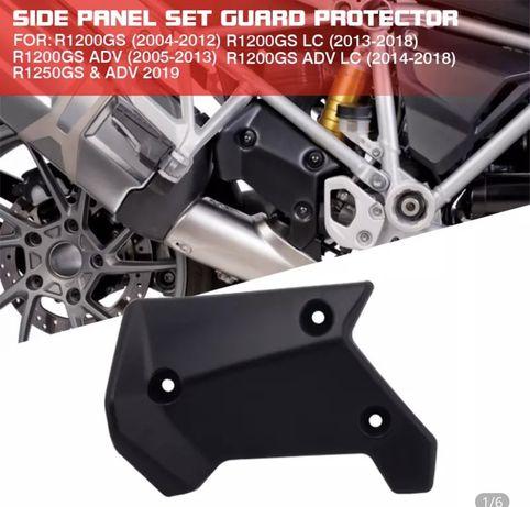 Moldura lateral para moto, proteção superior para bmw r1200gs l