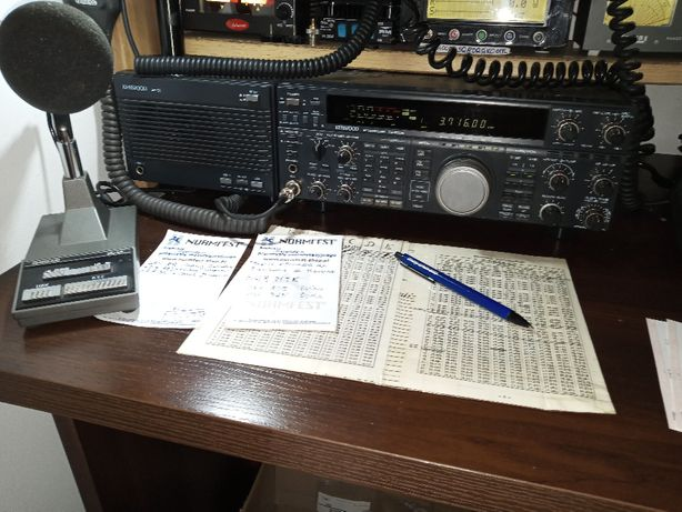 Kenwood TS-850 AT + SP 31 + MC 60 KPL CB KF