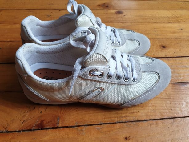 Buty sneakersy damskie, dziecięce geox respira rozm 35