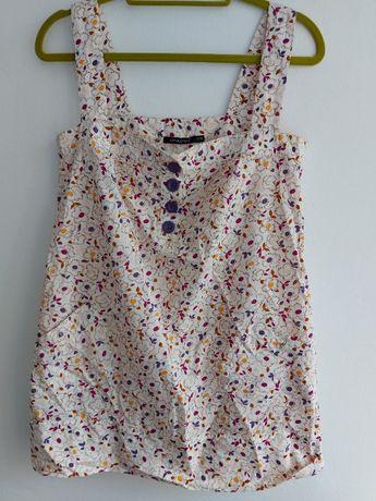 Atmosphere 38 M tunika sukienka w kwiaty lato