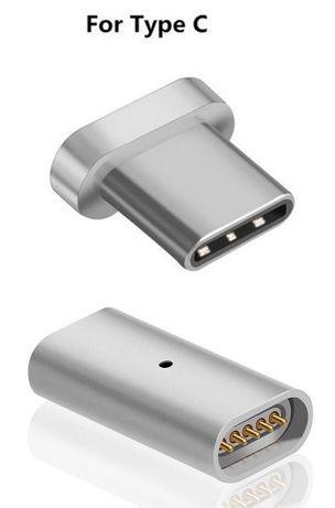 Adapter Magnetyczny USB - C, telefon, tablet, notebook, MacBook itp;