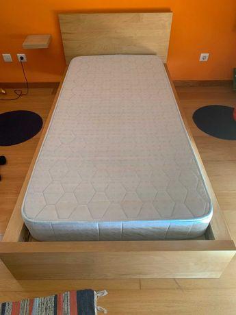Vendo cama individual + estrado +colchão