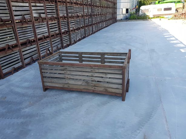 Skrzyniopalety metalowo drewniane