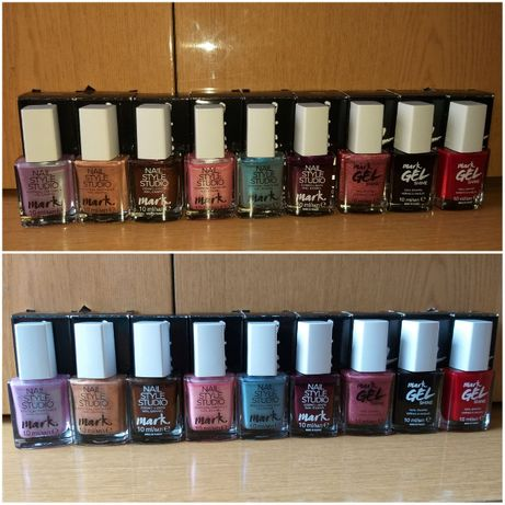 Lakier LAKIERY Avon - ZESTAW 15 sztuk - różne kolory - Polecam