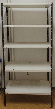 Regał stalowy skręcany, półki 94x50 cm wys. 200