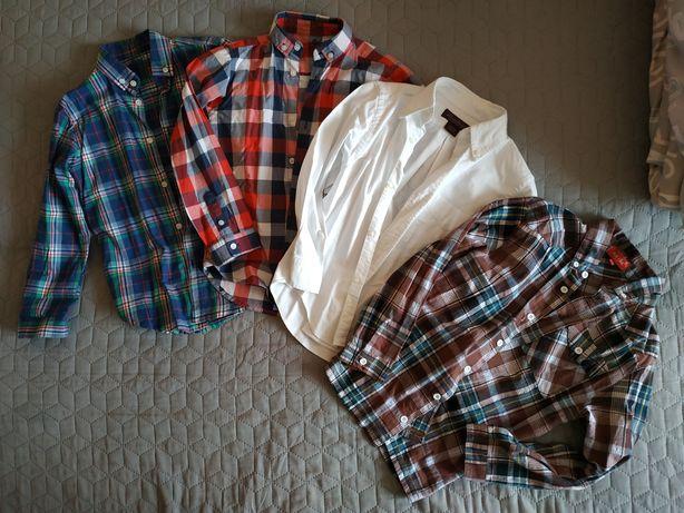 Фірмові якісні сорочки для хлопчика 6-8р. 120-128