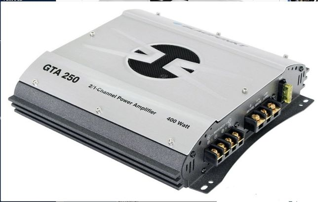 Усилитель Blaupunkt GTA-250 + динамики Mystery MJ-650