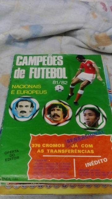 Campeões de Futebol - Caderneta completa