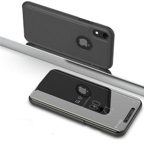 Зеркальный Чехол книжка на для iPhone 5 5S SE 6 6S 7 Plus X 11 Pro Max