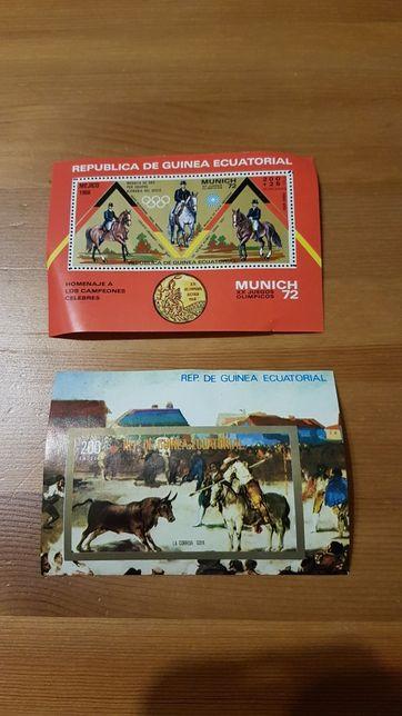 Znaczki pocztowe Gwinea Równikowa