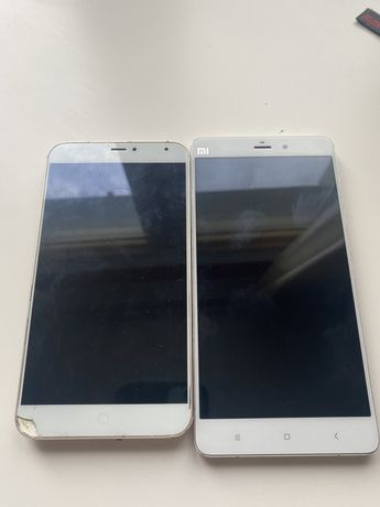 Xiaomi mi note и meizu mx 4