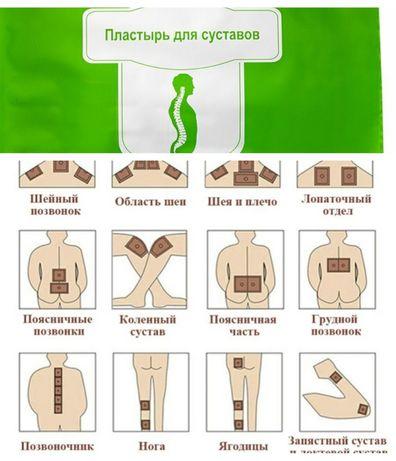 Ортопедические пластыри для суставов