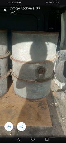 Beczka beczki na paliwo olej