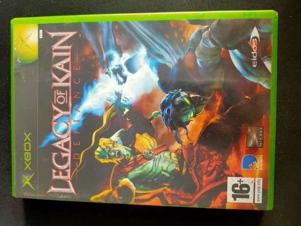 Legacy of kain Defiance XBOX classic