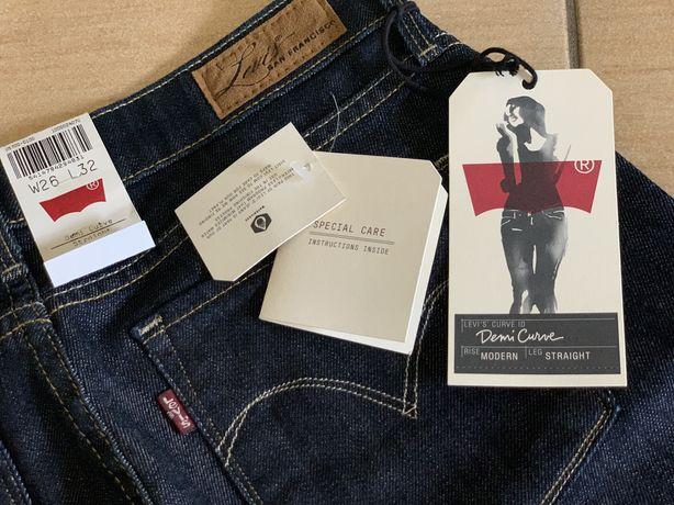 Nowe spodnie Levis, rozmiar W26 L32