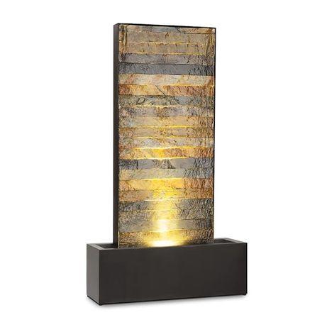 Fontanna ogrodowa LED kamień