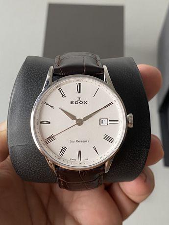 Швейцарские часы Edox Les Vauberts  (новые)