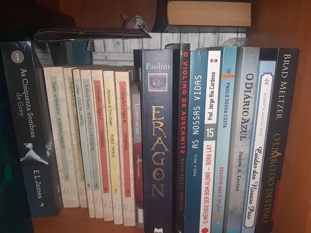Livros Variados de leitura