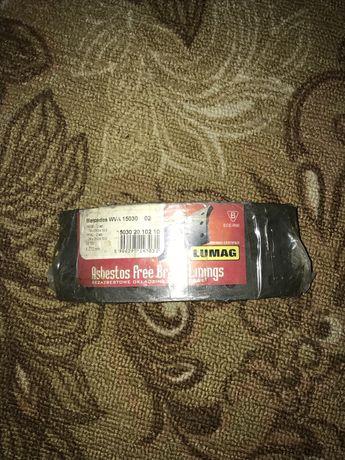 Гальмівні накладки (колодки) LUMAG  комплект 8 шт