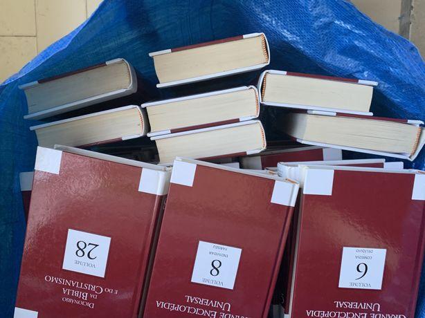 Enciclopedia de 28 livros completo quase novo