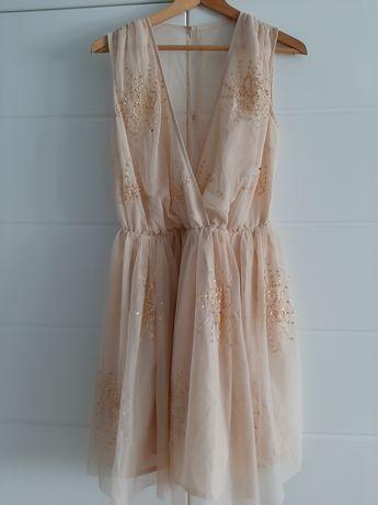 Elegancka sukienka tiulowa ASOS rozmiar 42 (L/XL)