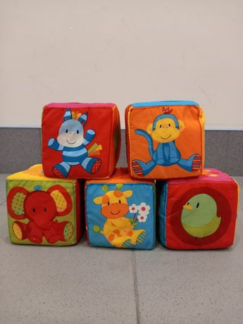 Мягкие кубики 5 шт