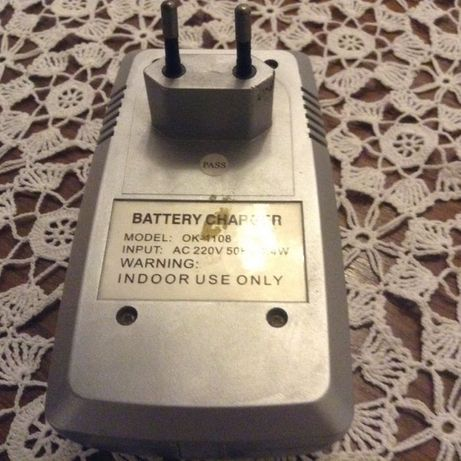 Battery Charger e Notebook Eletronic
