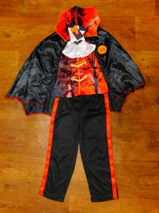 Новый костюм вампир 7-8 лет F&F карнавальный 128 размер длина 43 см ши Киев - изображение 1