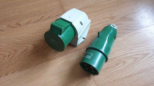 Tomada + Ficha  industrial 32A 3P+T 500V Legrand