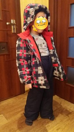 Зимняя куртка комбинезон комплект костюм Gusti