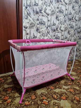 Детский манеж - кроватка