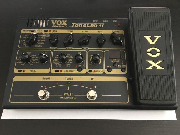 VOX ToneLab ST - lampowy symulator wzmacniaczy / multiefekt
