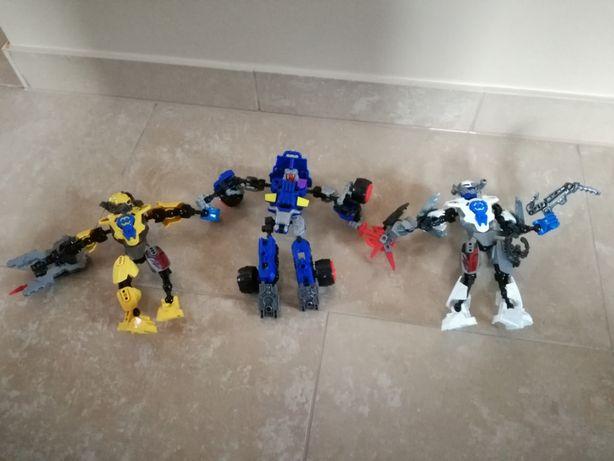 Lego hero faktory, roboty