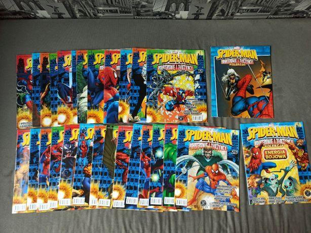 Komiksy SPIDER-MAN Bohaterowie i Złoczyńcy + karty