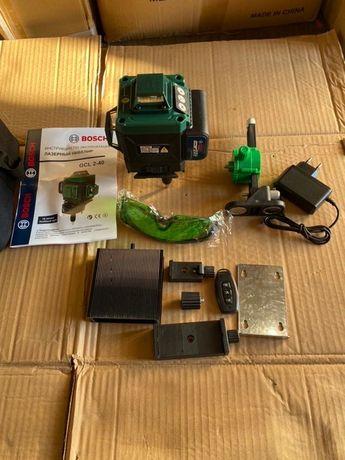 Лазерный уровень, нивелир Bosch GCL 2-40. Гарантия 1 год!!!