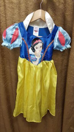 Новогодний костюм Белоснежки платье