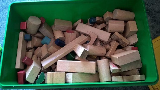 Skrzynia klocków drewnianych;-)