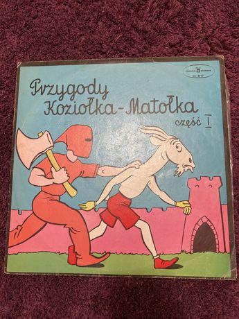 Przygody Koziolka Matolka -winyl
