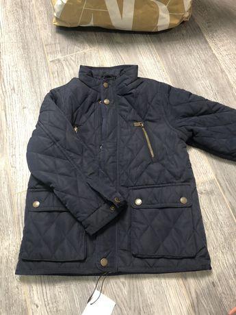 Куртка Zara, новая с бирками 7 (122), можно на 6 (116)
