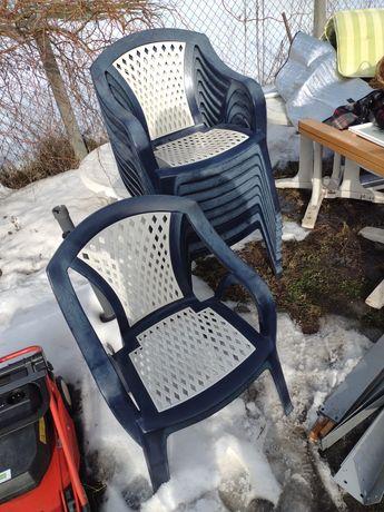 Krzesła ogrodowe 10 sztuk niemieckie