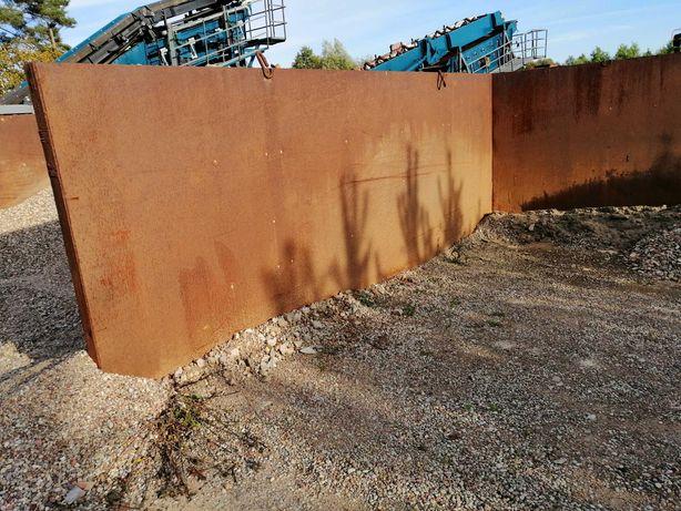 ściana oporowa, zasiek, boks 185 x 550 ( cm )