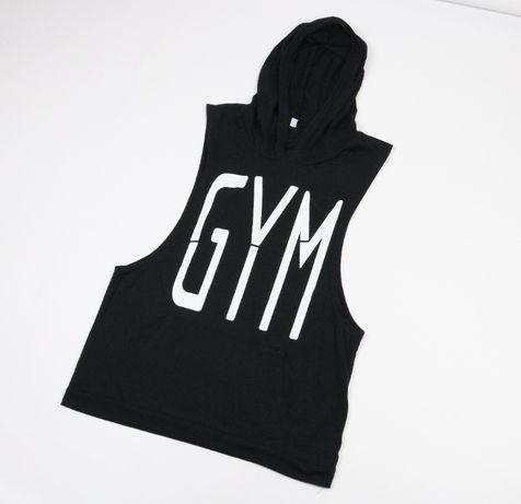 Майка з капюшоном Gym Бодибилдинг M Bodybuilding